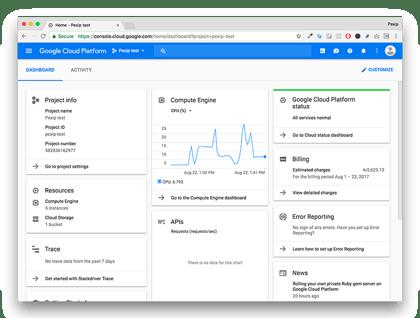 Google Cloud Platform Screenshot-1