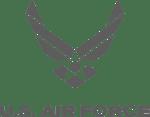 US airforce logo grey 2-1