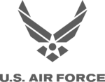 US airforce logo grey 2