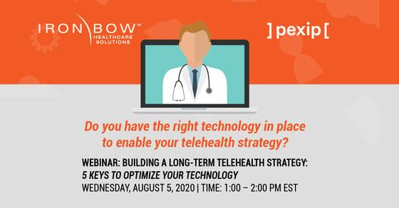 Building a long-term telehealth strategy