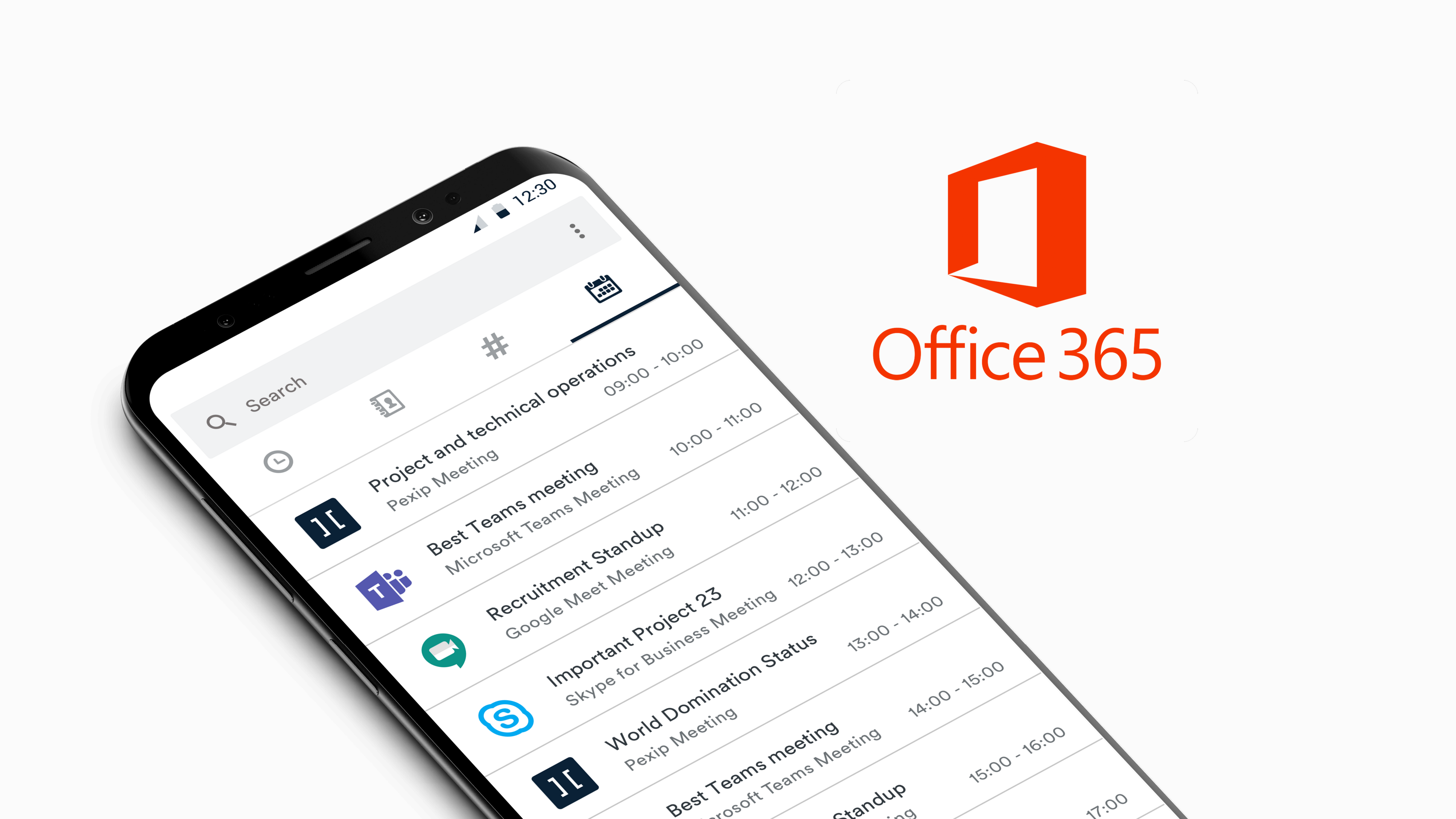 Office 365 meetings on Android