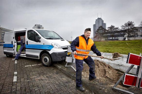 Regina van den IJssel glasvezelmonteur VolkerWessels Telecom