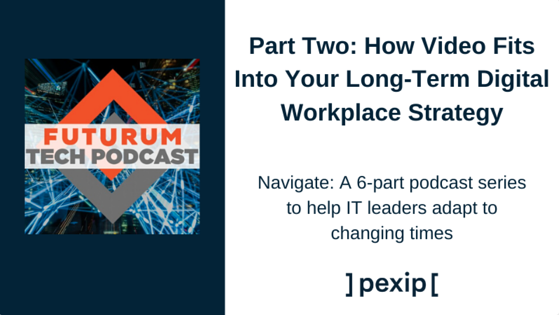 How Video Fits Into Your Long-Term Digital Workplace Strategy