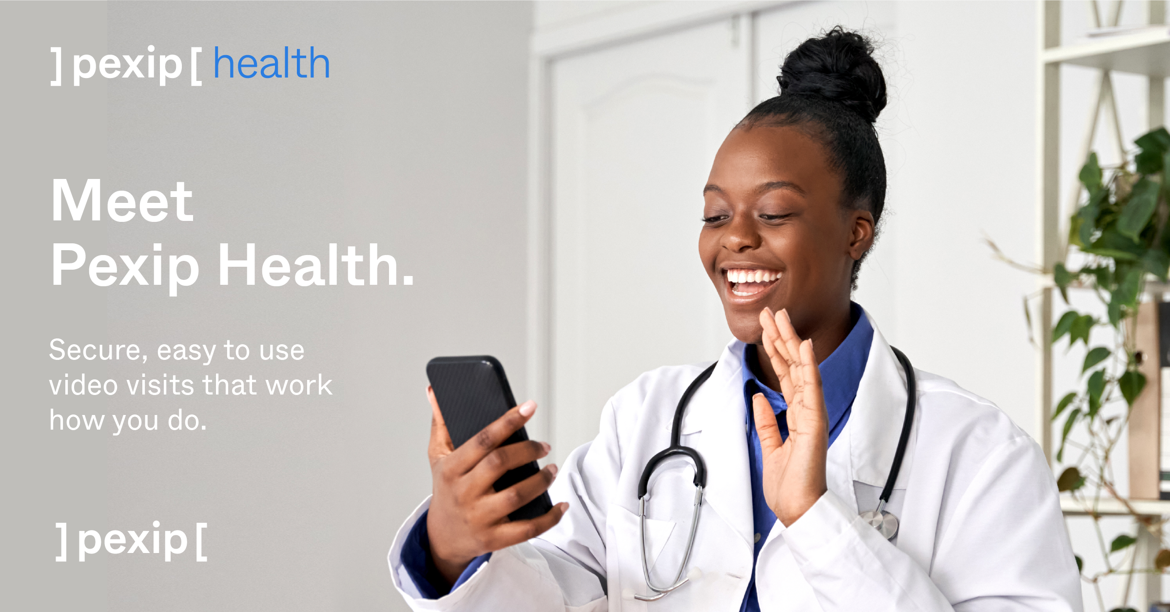 Pexip Health enables simple, easy-to-join video visits for telehealth