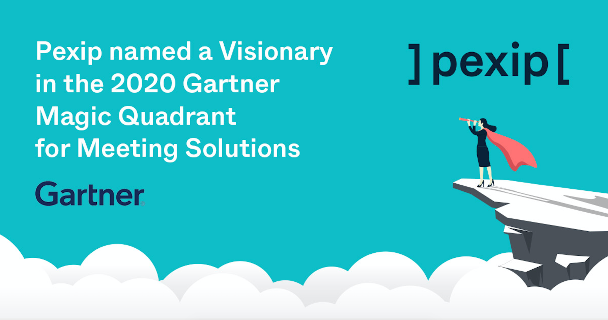 Pexip Named a Visionary in 2020 Gartner Magic Quadrant for Meeting Solutions for the Second Year in a Row