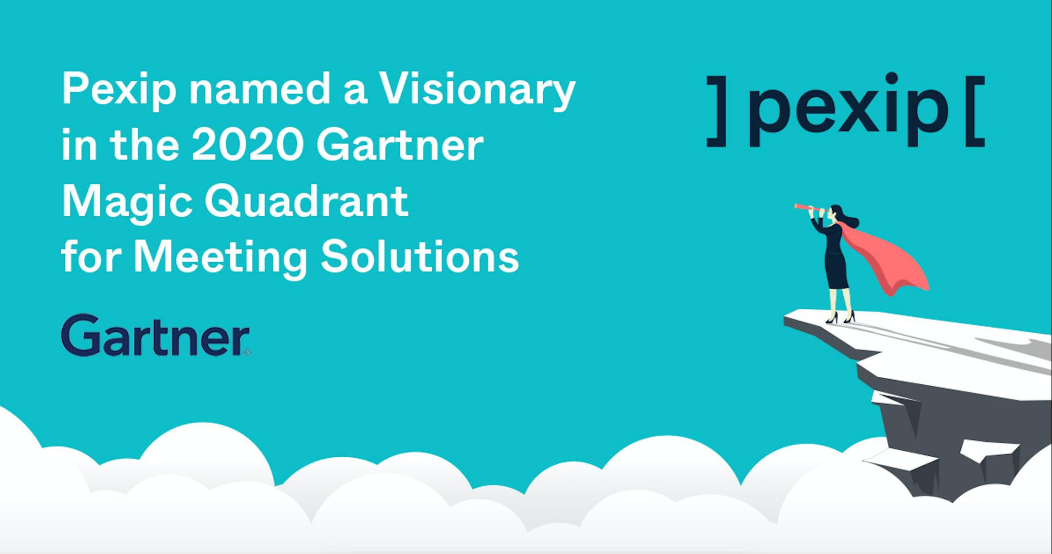 Pexip ledende visjonær i Gartner Magic Quadrant