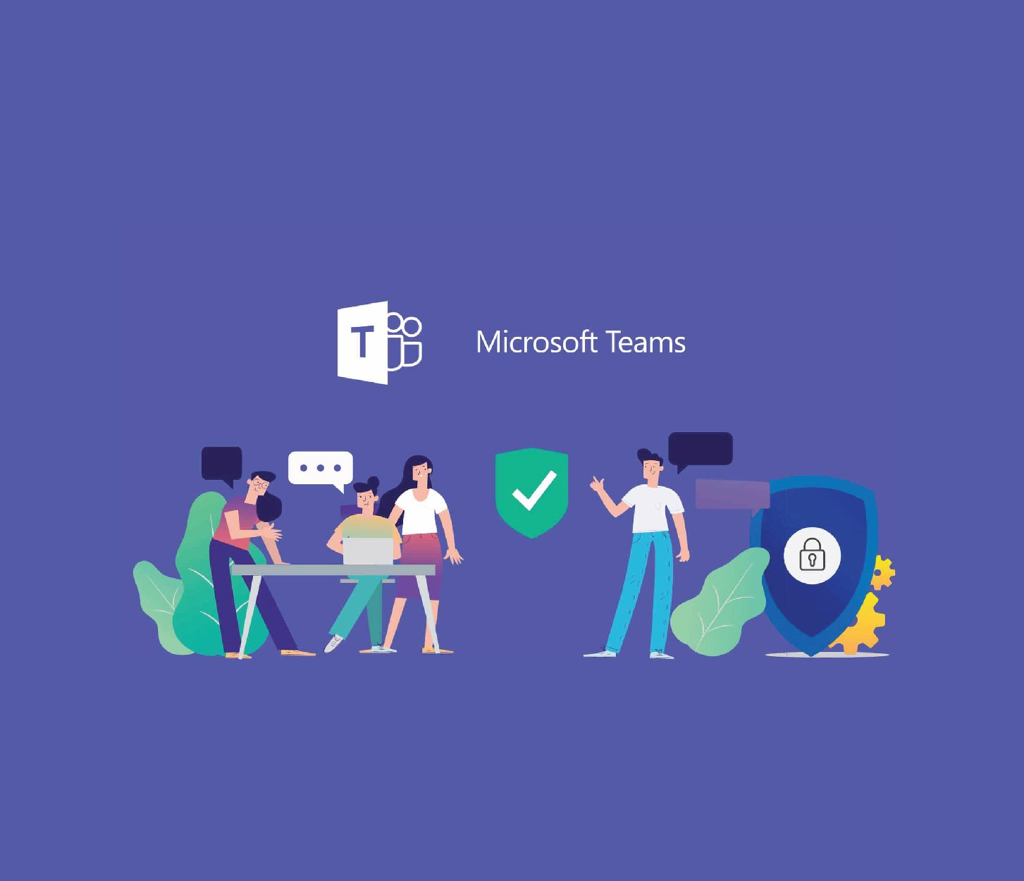 Microsoft teams purple