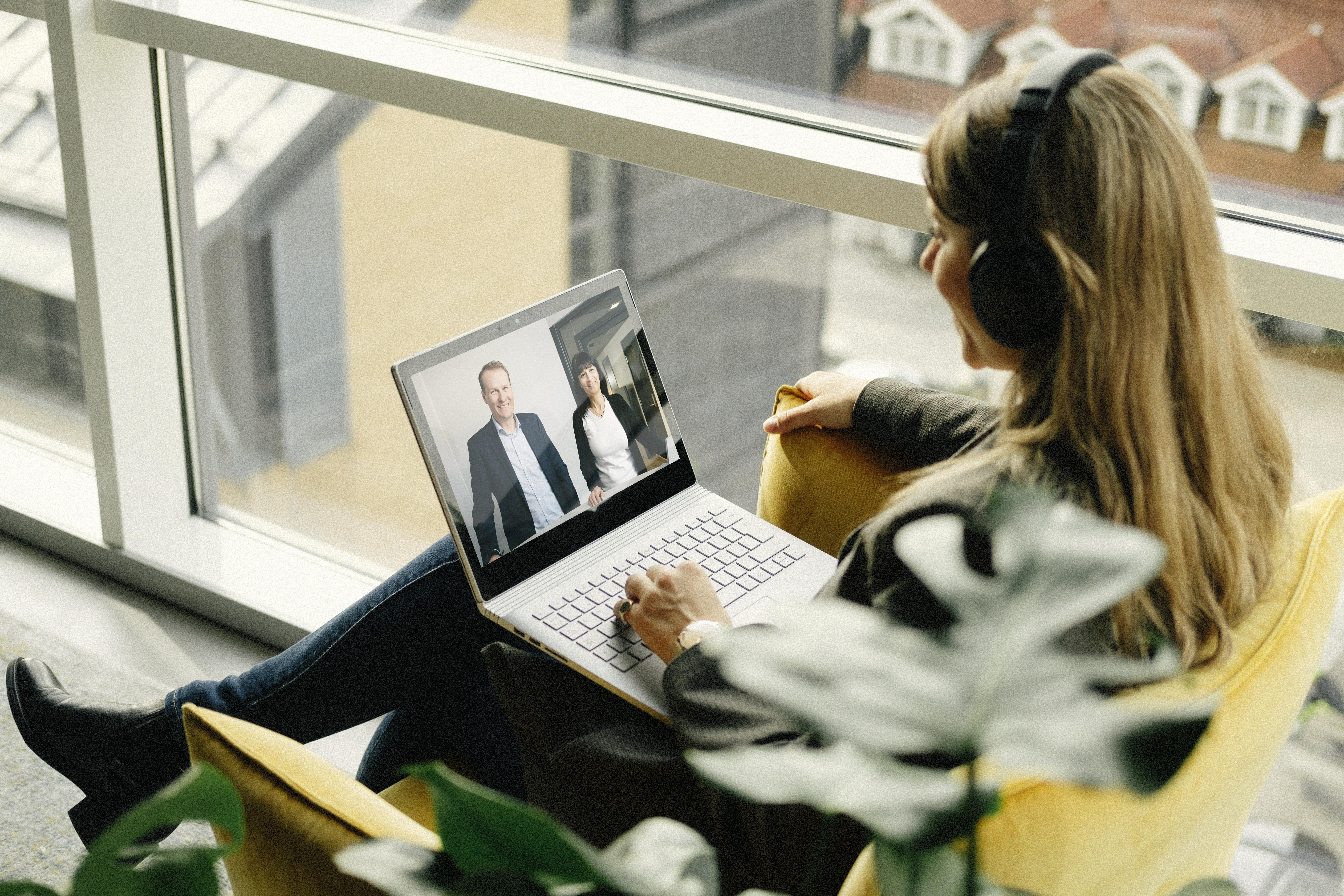 Secure video meeting