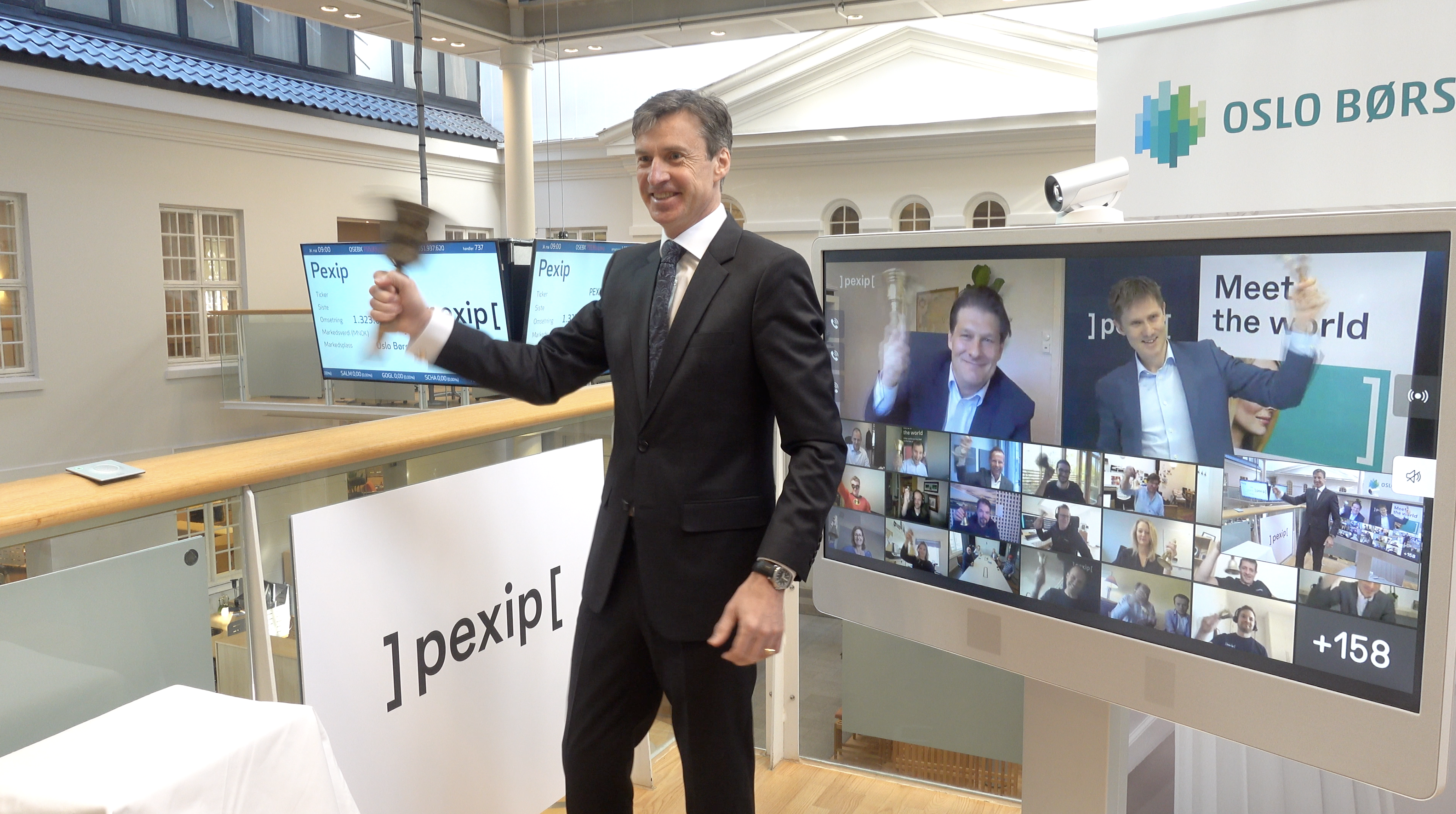 Pexip Listed on the Oslo Stock Exchange after the First Fully-Virtual IPO in Norway