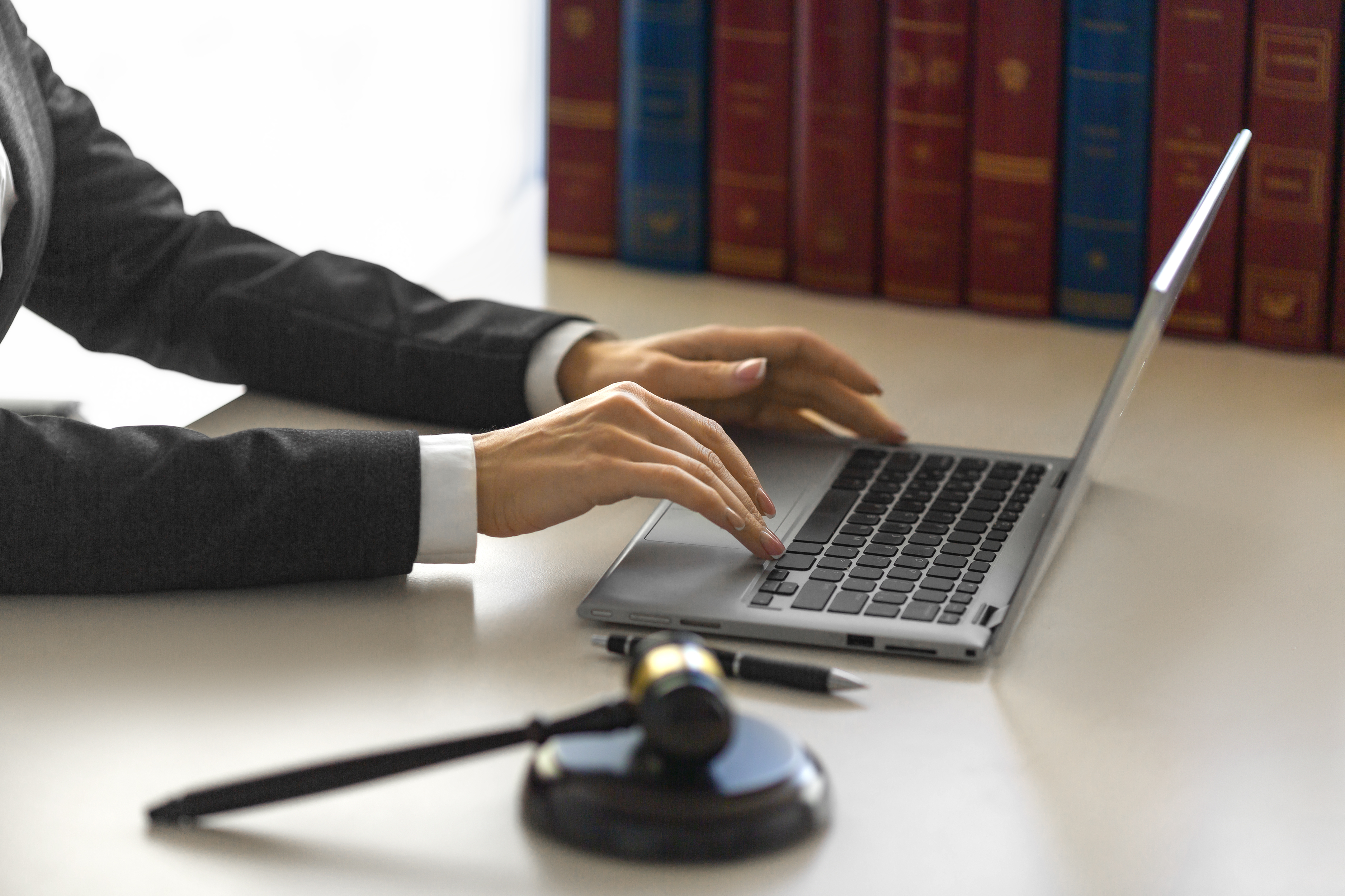remote court hearing on Pexip video conferencing